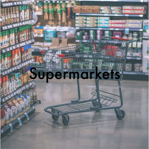 We provide a wide range of mass market products to supermarket chains. We comply to their high standards.
